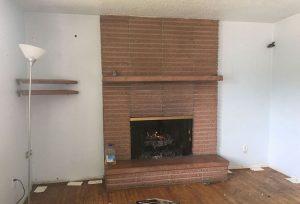 Monterey Fireplace & Loft Remodel